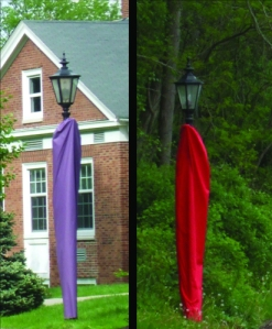 Covered Light Posts