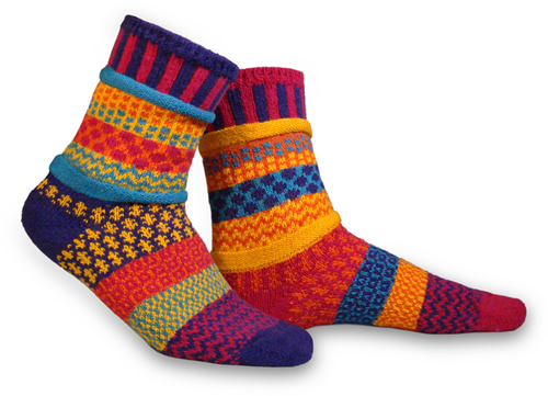 Sol mates socks blue