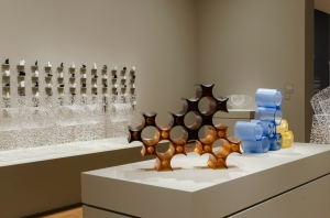 Installation view, New Artifacts: Works by Brent Kee Young and Sungsoo Kim, Courtesy of the Akron Art Museum, Photo by Joe Levack