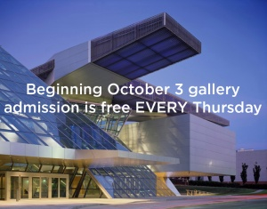 Free Thursdays at the Akron Art Museum
