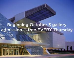 Free Thursdays at the Akron Art Museum