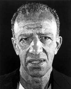 Chuck Close, Alex/Reduction Print , 1993