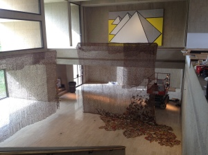 Installation of Gli at Des Moines Art Center
