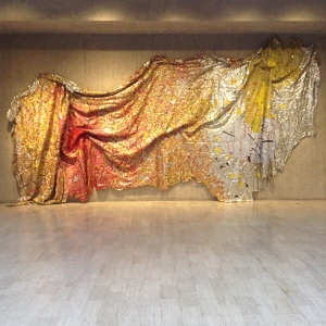 Gravity and Grace installed at Des Moines Art Center