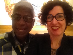 El Anatsui and Ellen Rudolph