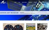 Akron Art Museum Website