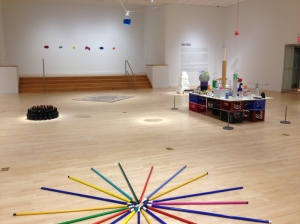 Tony Feher at the Bronx Museum of the Arts