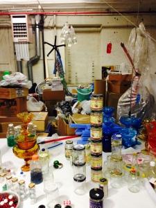 Tony Feher's studio