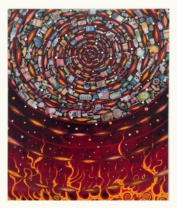 http://www.jamescohan.com/artists/fred-tomaselli/