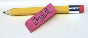 2Giant Pencil and Realy Big Eraser