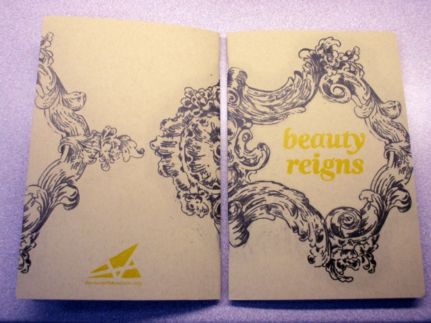 Beauty Reigns Gallery Guide Designed by Micah Kraus