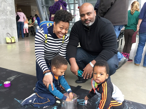 Family Day at Akron Art Museum