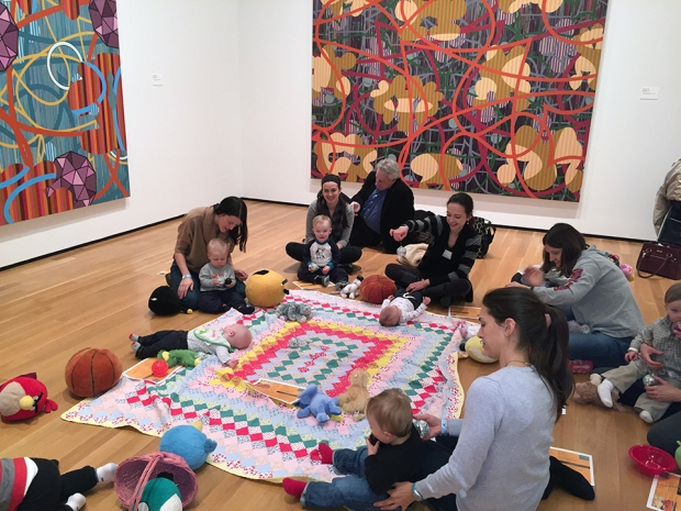 Photo: Art Babes at Akron Art Museum