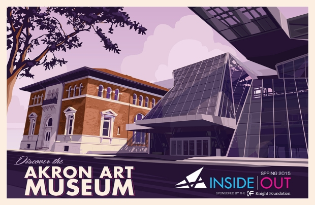 Inside|Out poster. Inside|Out is funded by the John S. and James L. Knight Foundation
