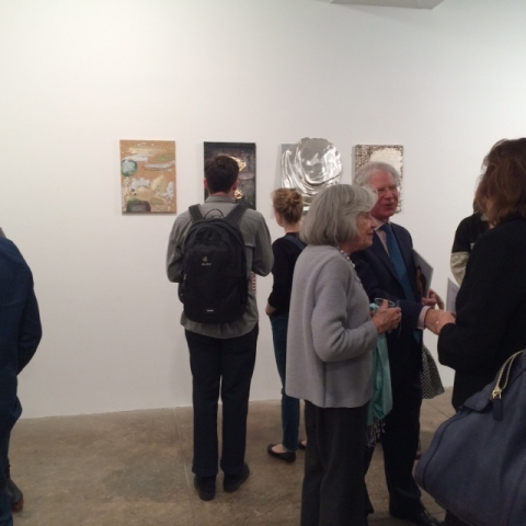 Nancy Lorenz Elements opening at Morgan Lehman Gallery