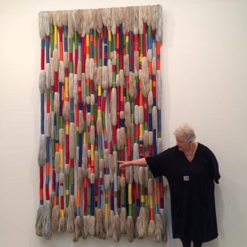 Sheila Hicks, 2015