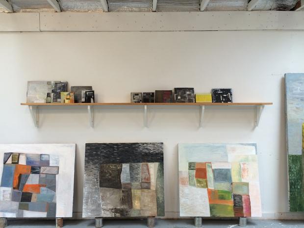 Erik Neff's paintings in their natural habitat.